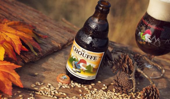 Mc Chouffe beer by the Achouffe brewery