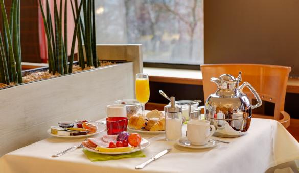 Breakfast at the Silva Hotel Spa Balmoral