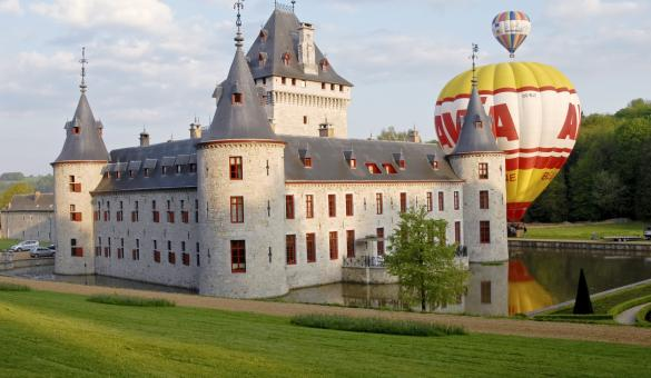 Discover Chateau Jemeppe, at Hargimont in Luxembourg province