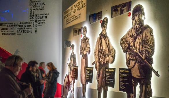 Visit the Bastogne War Museum, dedicated to the Second World War