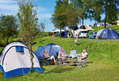 Ardennen Camping Bertrix - tante - pelouse