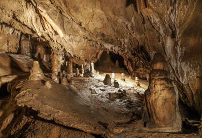 Cave - member of the WBT - touristic attraction and museums