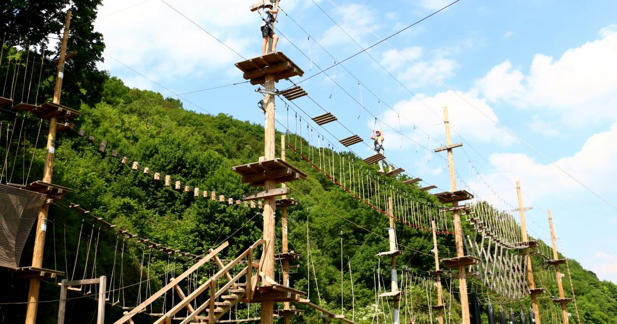 The Adventure Valley Durbuy Park The Largest Adventure
